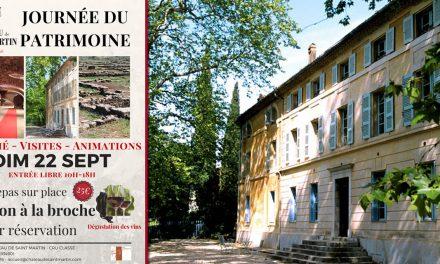 TARADEAU : JOURNÉE DU PATRIMOINE AU CHÂTEAU DE SAINT MARTIN (VAR)