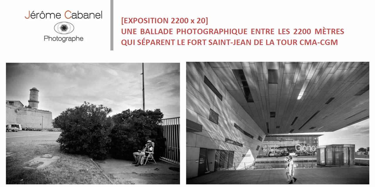 Marseille : Exposition photo de Jérôme CABANEL du 27 septembre au 30 décembre