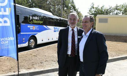 Région Sud : Lancement de la 1ère ligne de cars 100% électrique