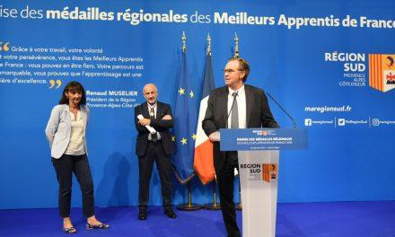 Marseille : Remise des médailles aux Meilleurs Apprentis de France