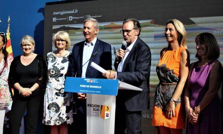 Inauguration de la Foire de Marseille