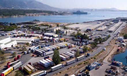 Toulon : Départ de la ligne RO-RO Turquie des Ports de la Rade