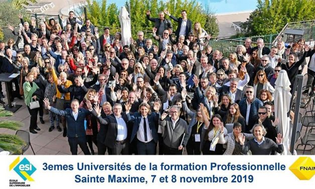 SAINTE MAXIME : LES 3EMES UNIVERSITÉS DE LA FORMATION PROFESSIONNELLE FNAIM DU VAR