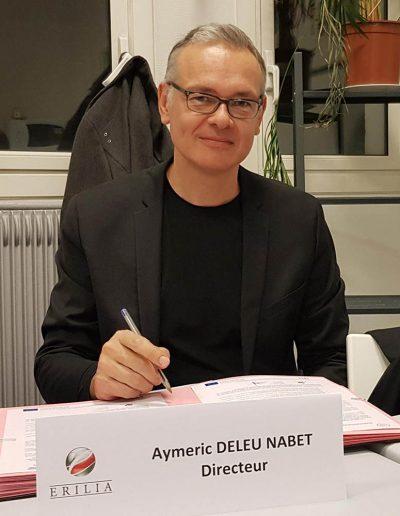 Aymeric DELEU-NABET - ERILIA