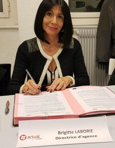 Brigitte LABORIE - Agence ACTUAL