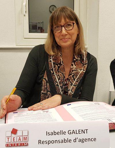 Isabelle GALENT - TEAM INTERIM