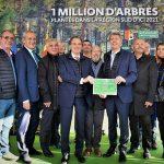 AUBAGNE : LANCEMENT DU PLAN « 1 MILLION D'ARBRES PLANTES EN REGION SUD D'ICI 2021 »