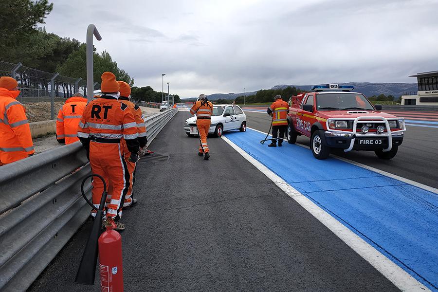 Atelier simulation feu  - Circuit Paul Ricard