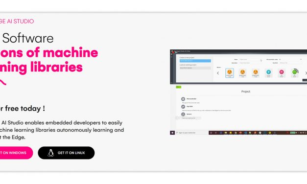 La start-up française Cartesiam lance sa solution « NanoEdge AI Studio »