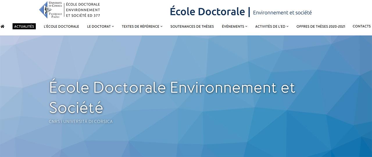 UNIVERSITÉ DE CORSE, QUAND LE DOCTORAT DEVIENT UN « PASSEPORT » VERS L'ENTREPRISE