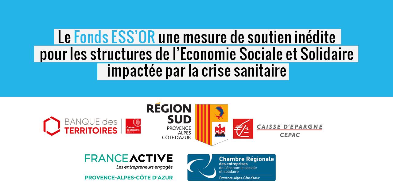 La Région Sud, la Banque des Territoires et la CEPAC créent le Fonds ESS'OR