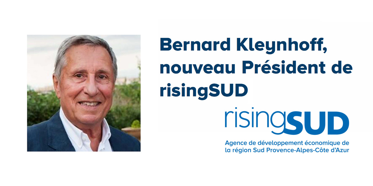 Bernard Kleynhoff, nouveau Président de risingSUD