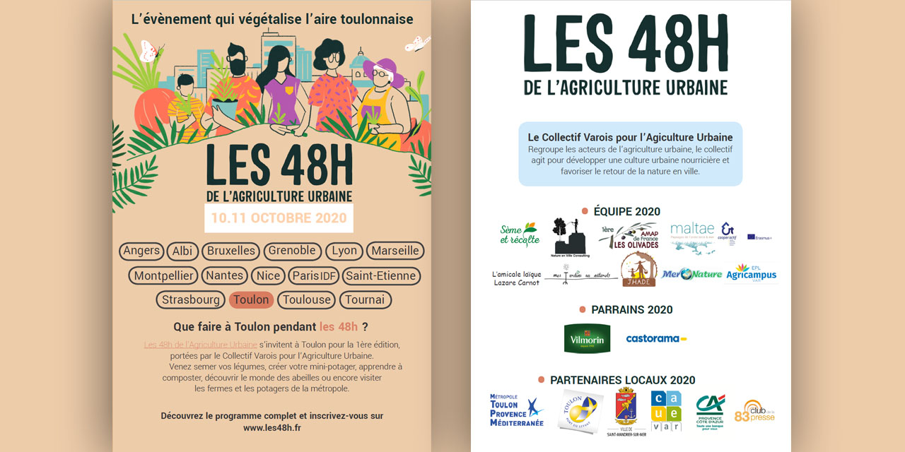 TOULON : L'agriculture urbaine varoise investit le pavé
