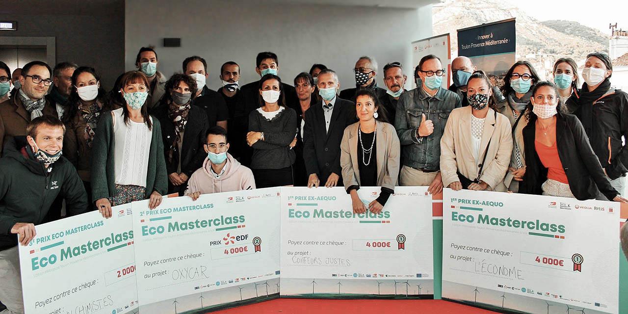 TOULON : LES LAURÉATS DE L'ÉCO MASTERCLASS BY TVT INNOVATION