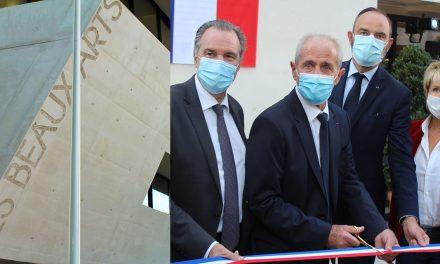 TOULON : INAUGURATION DES BEAUX-ARTS ET DE LA MAISON DE LA CRÉATIVITÉ