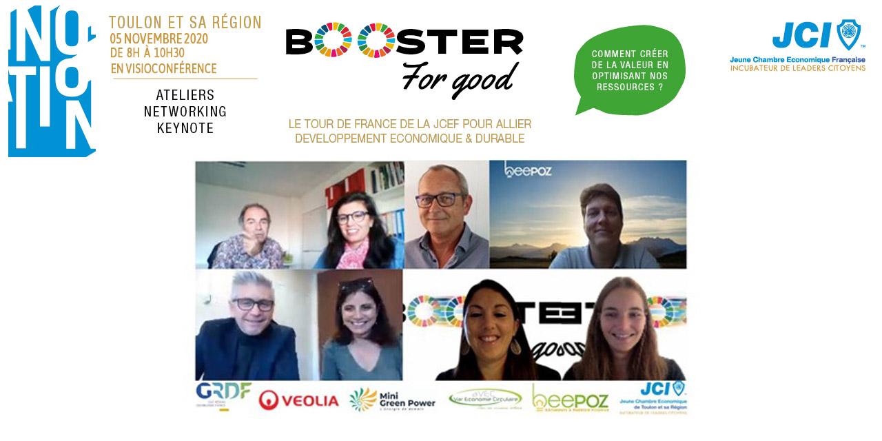 TOULON – BOOSTER FOR GOOD : UN ÉVÉNEMENT SUR LES ÉNERGIES RENOUVELABLES