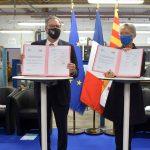 MARSEILLE :  SIGNATURE DE L'ACCORD-CADRE ÉTAT-RÉGION «PLAN D'INVESTISSEMENT DANS LES COMPÉTENCES»
