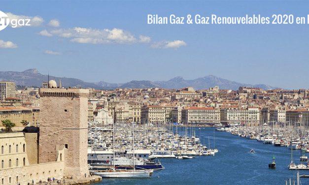 Bilan gaz et gaz renouvelables Provence-Alpes-Côte d'Azur 2020