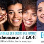 « DIVERSITE ET INCLUSION AU SEIN DU CAC40 », NOUVELLE ÉTUDE DE L'OBSERVATOIRE SKEMA DE LA FÉMINISATION DES ENTREPRISES