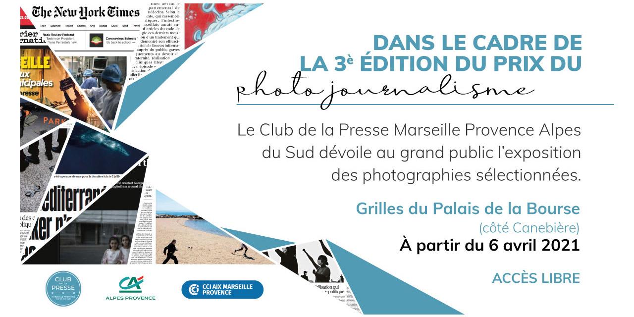 Marseille – Exposition du 3ème Prix du Photojournalisme du Club de la Presse Marseille Provence Alpes du Sud