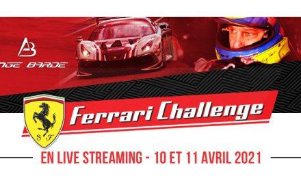Ange Barde Ferrari Challenge – Round#2 – Spielberg