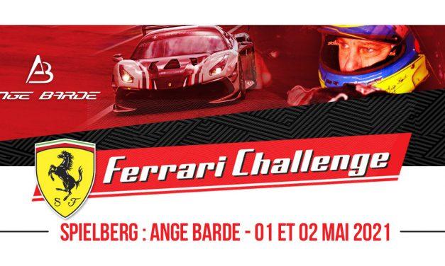 SPIELBERG : ANGE BARDE – FERRARI CHALLENGE #2