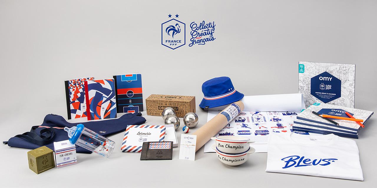 Soutenez les Bleus avec le savon en édition limitée Fer à Cheval du Collectif Créatif Français de la Fédération Française de Football
