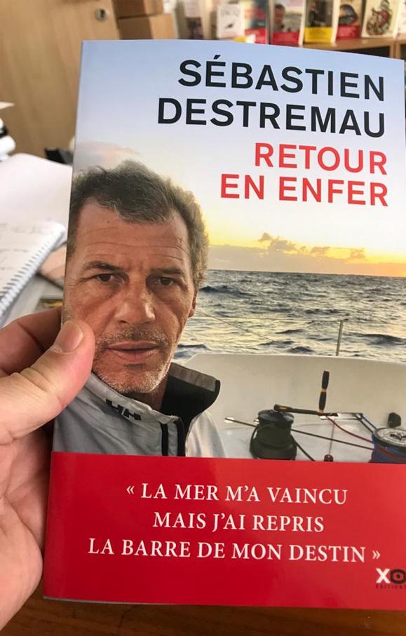 Sébastien Destremeau : Retour du Vendée Globe 2017