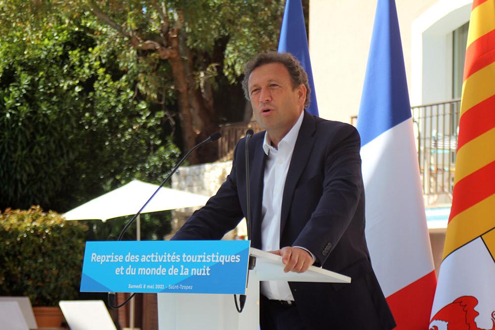 François de Canson, maire de La Londe, président de la communauté de communes Méditerranée Porte des Maures, président du Comité Régional de Tourisme (CRT)