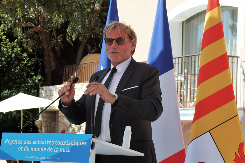 Jean-Pierre Ghiribelli, président de l'UMIH 83