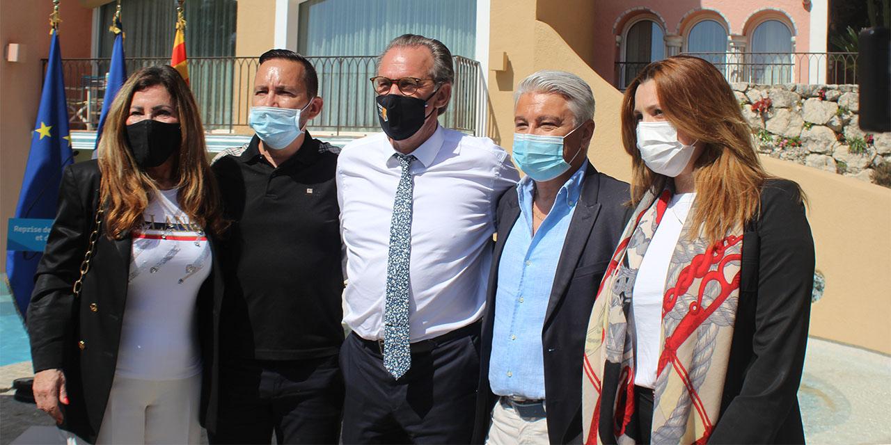Renaud Muselier aux côtés des acteurs du tourisme du golfe de St-Tropez