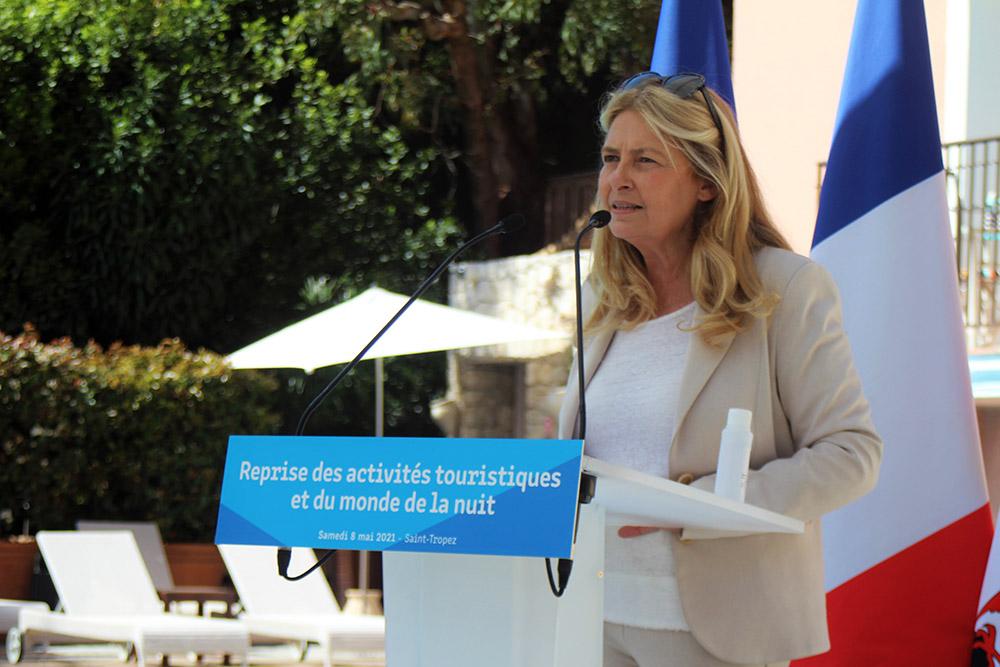 Sylvie Siri, maire de Saint-Tropez