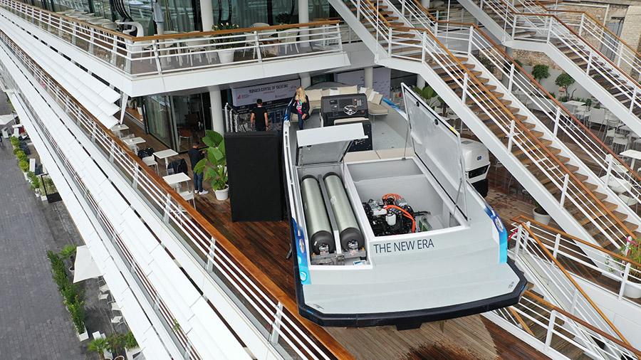 Le bateau The New Era de HYNOVA