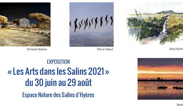 Hyères : Exposition « Les Arts dans les Salins 2021» du 30 juin au 29 août