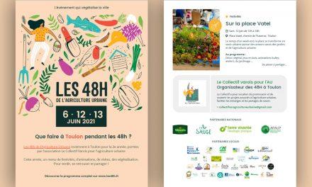 TOULON – FESTIVAL DE JARDINAGE URBAIN  «LES 48H DE L'AGRICULTURE URBAINE»