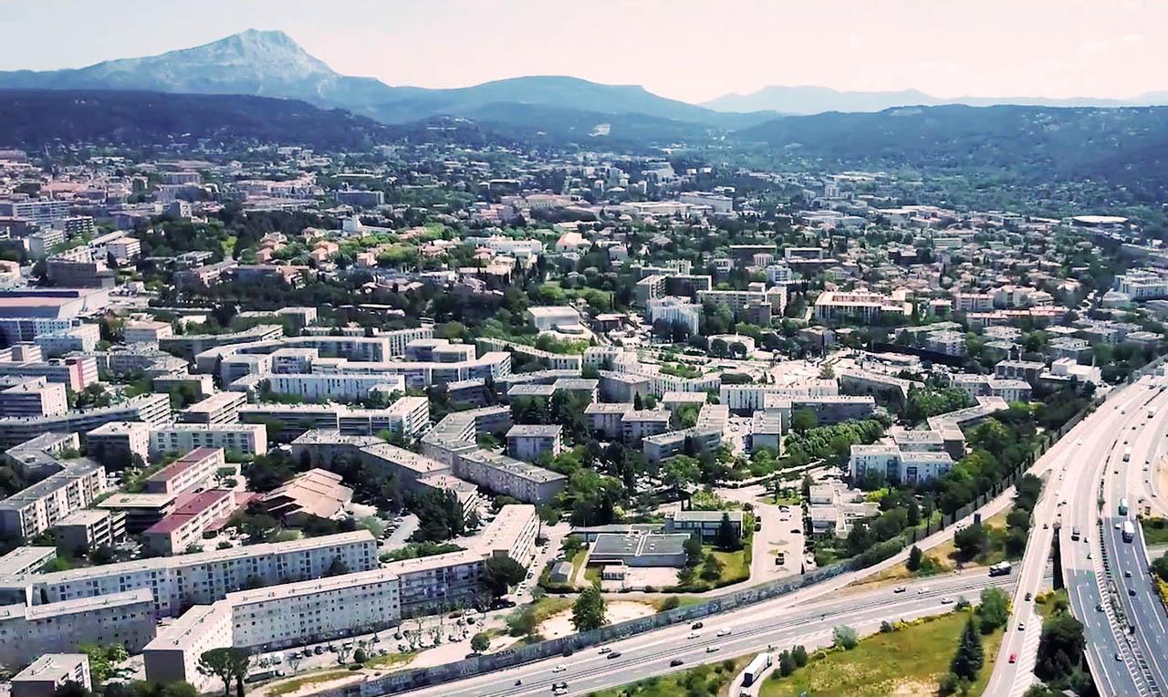 Vue du Pays d'Aix Développement