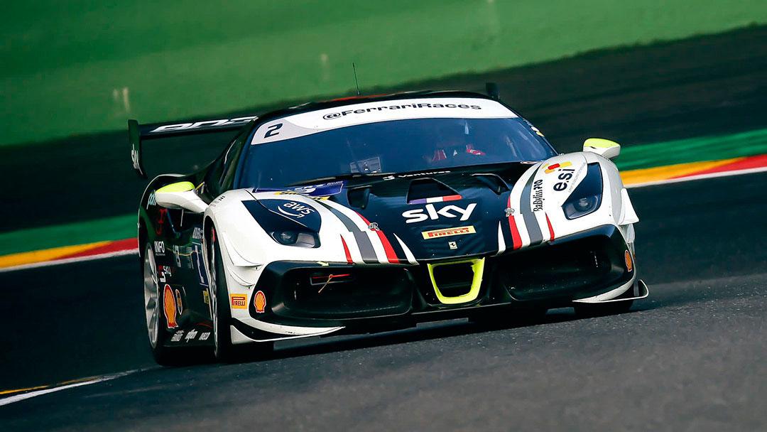 Ferrari Challenge : le circuit Circuit de Nürburg en Allemagne