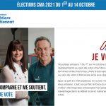 RENOUVELLEMENT DES ÉLUS DES CHAMBRES DES MÉTIERS ET DE L'ARTISANAT _CMA REGION #artisansvotons